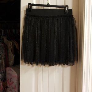 Sexy little tulle mini skirt